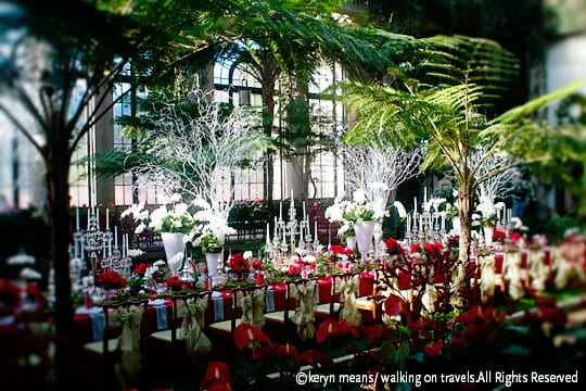 DuPont, the owner of the estate that is now Longwood Gardens, loved to lavishly entertain guests. Wouldn't you love to be invited to this Christmas dinner?