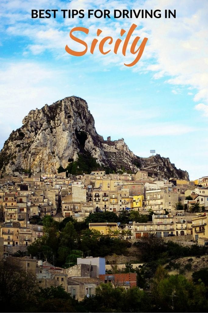 Tips for driving in Sicily Italy