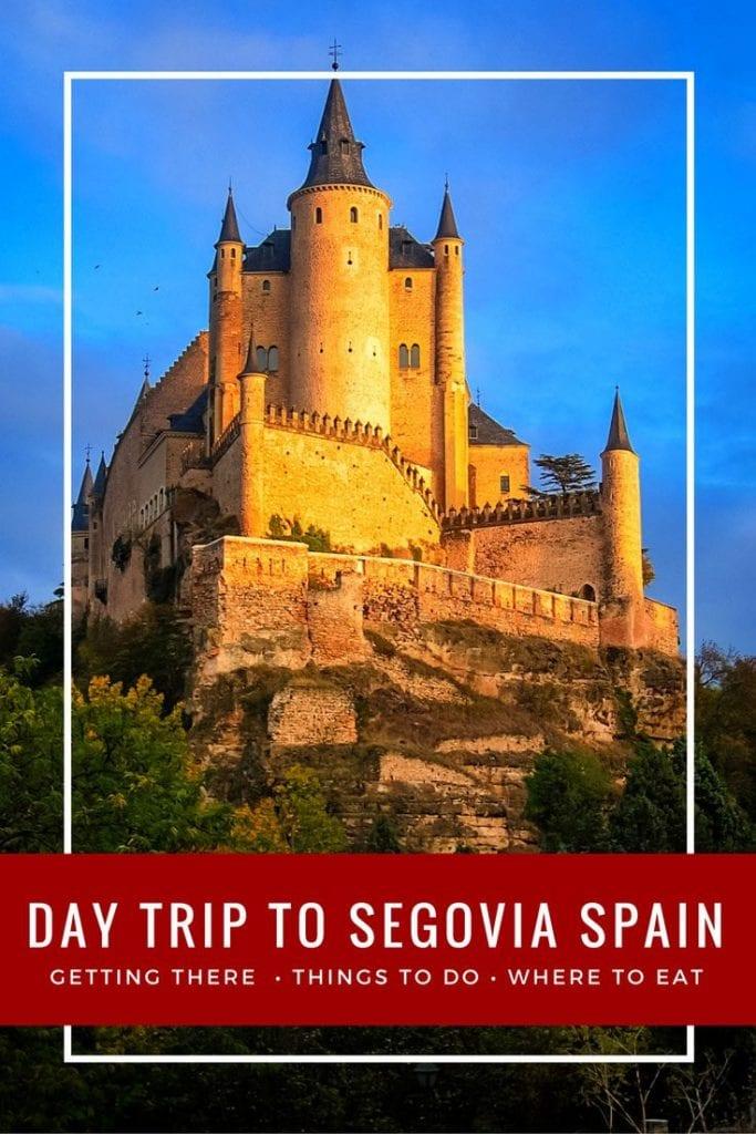 Madrid to Segovia Day trip