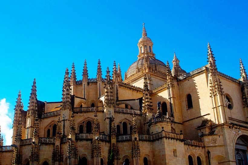 Segovia to Madrid Spain