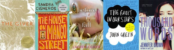teen books fiction