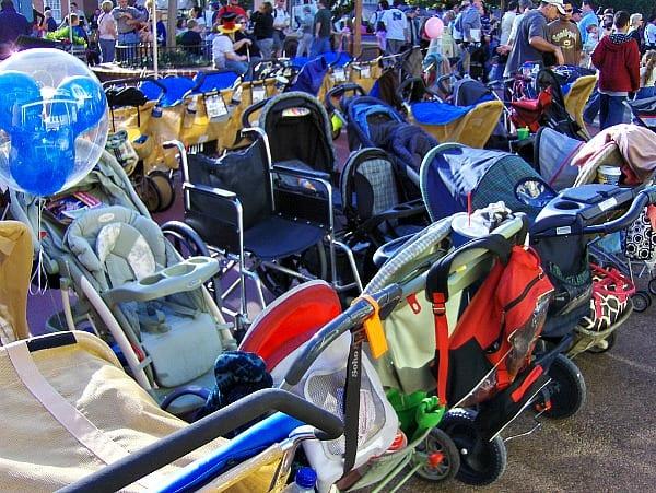 Walt Disney World Strollers