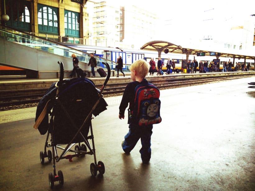 Paris to London train