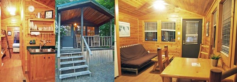 KOA Astoria Seaside Deluxe Cabin