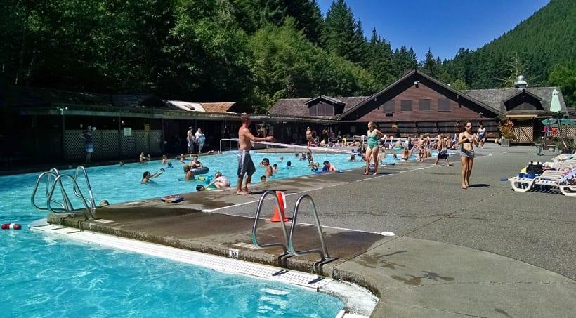 Sol Duc Hot Springs Resort Pools