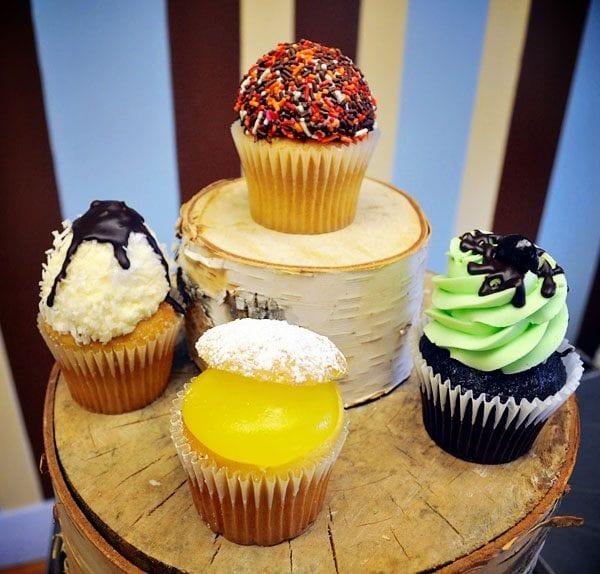 White Mountain Cupcakes