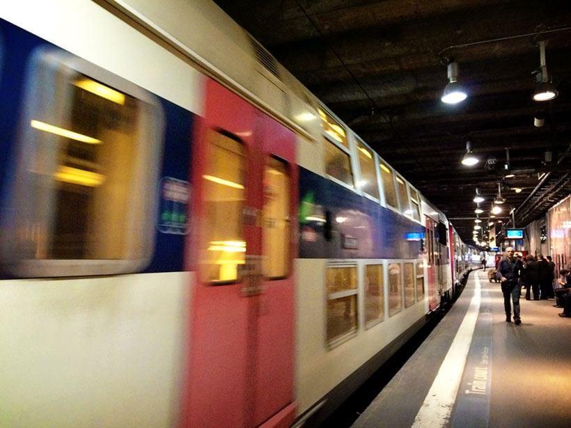Paris Train Travel