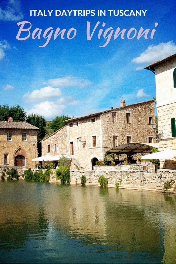Bagno Vignoni taly Day Trips in Tuscany