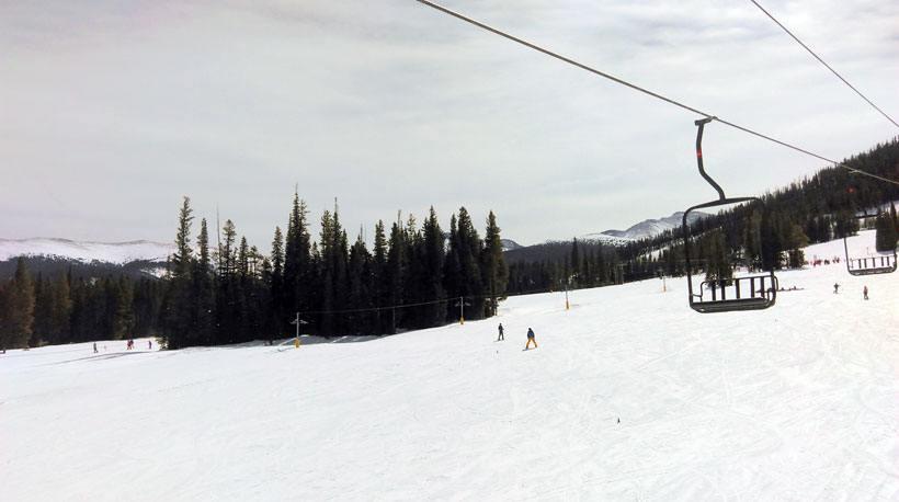 Winter Park Ski lessons ski lift