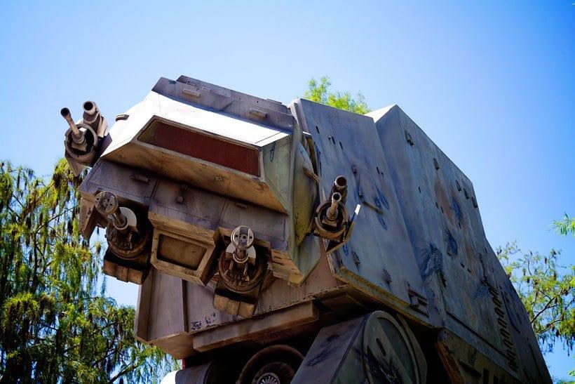 AT AT at Disney Hollywood Studios Star Wars