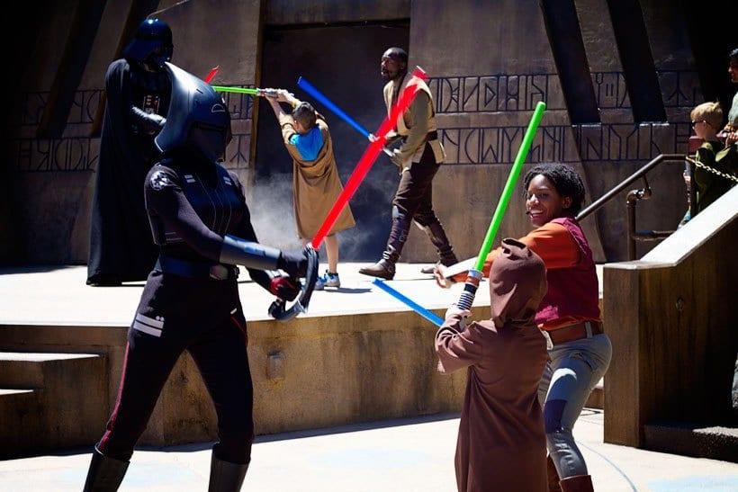 Star Wars Jedi Training at Disney Hollywood Studios