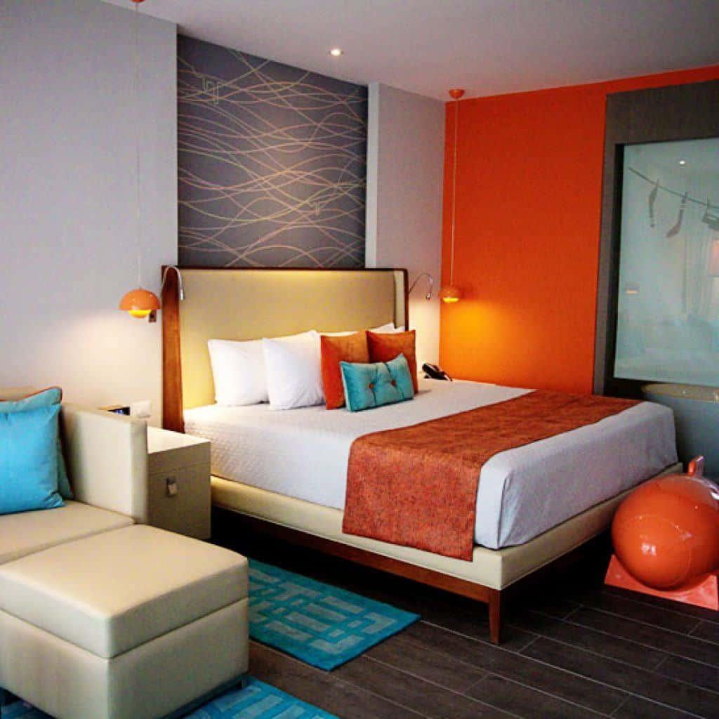 Hotel room at the Nickelodeon Hotels and Resorts Punta Cana
