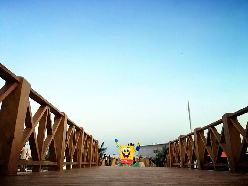 Sponge Bob at Nickelodeon Studios Resort and Hotel Punta Cana