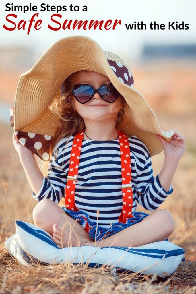 Safe Summer with kids
