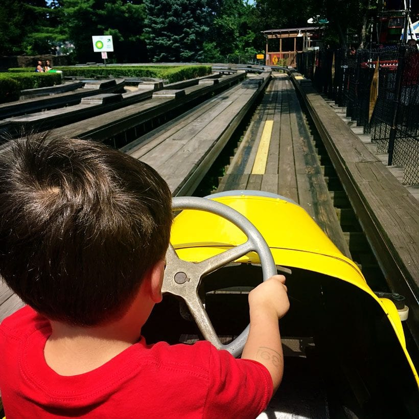 Kennywood in Pittsburgh with Kids