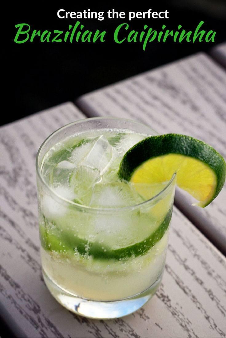 Brazilian Caipirinha cocktail recipe