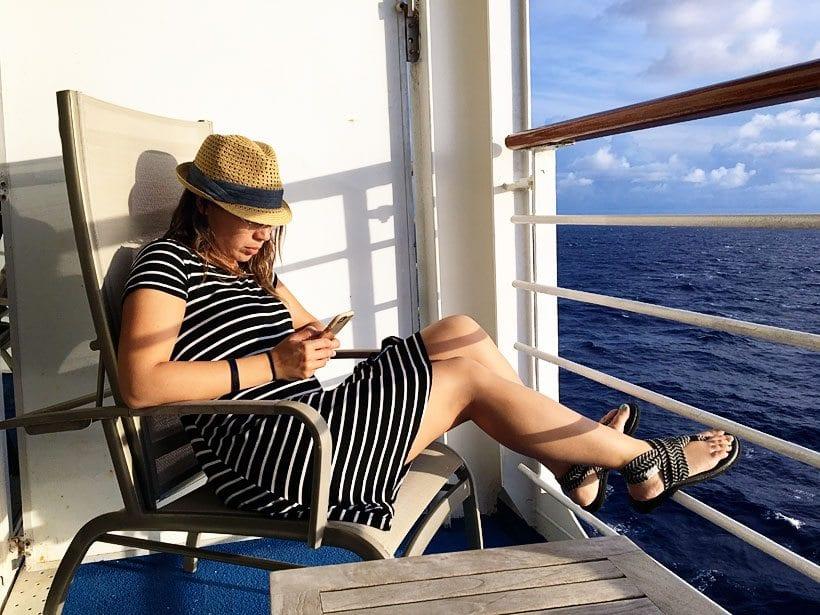 Cruise Travel Balcony