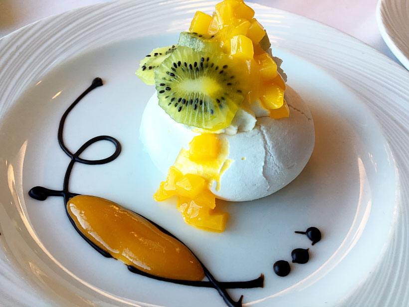 Desserts in Cruise Travel