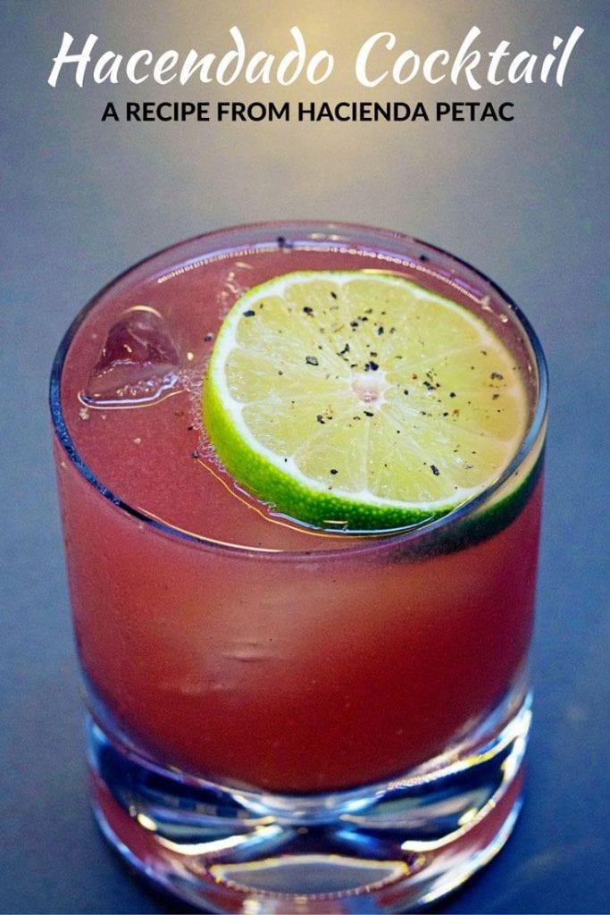 Hacendado Cocktail recipe