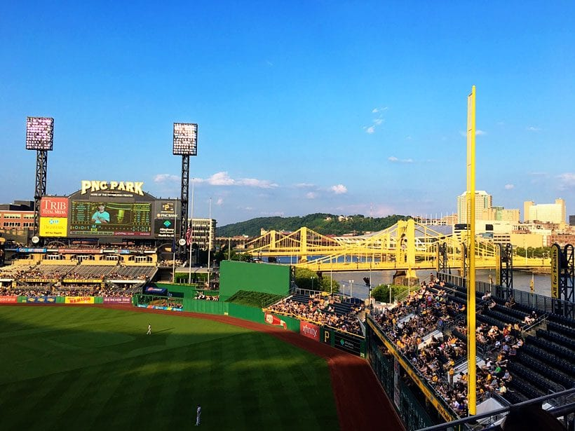 PNC Park in Pittsburgh with Kids