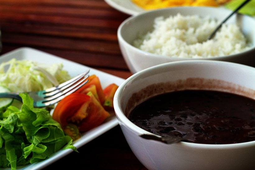 Cuban Food in Havana Cuba