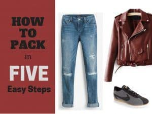 How to pack for mild weather