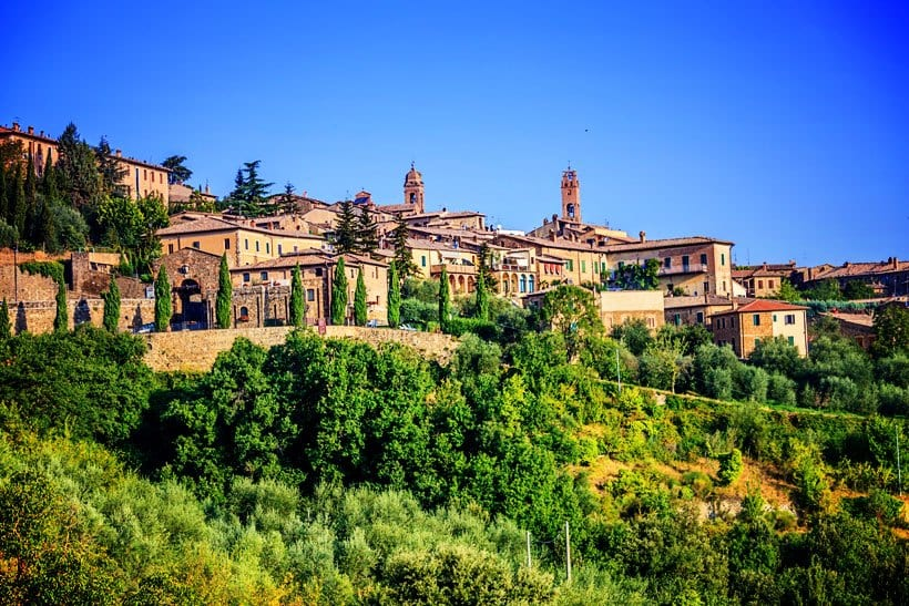 Day Trips from Florence to Montalcino Italy