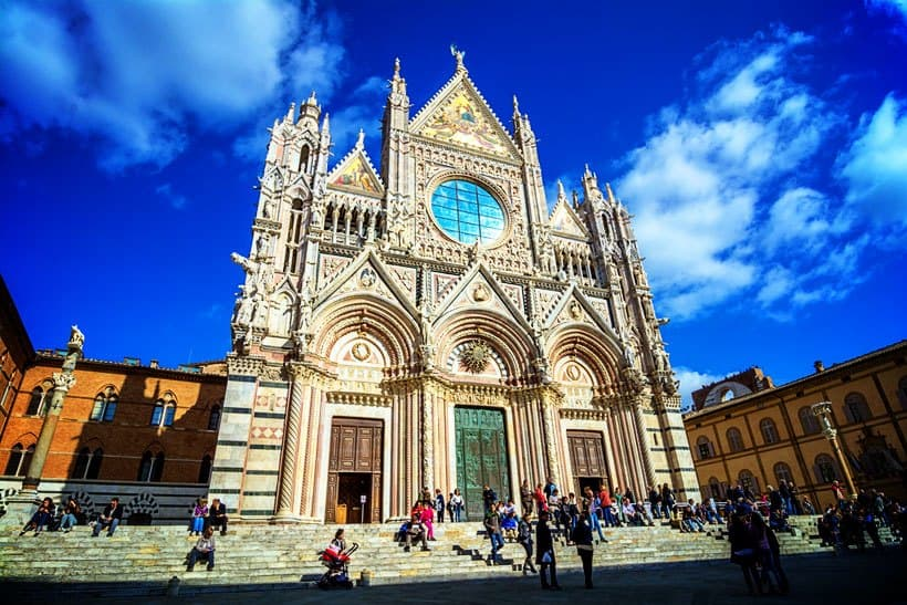 Tuscany Day trips to Siena Italy