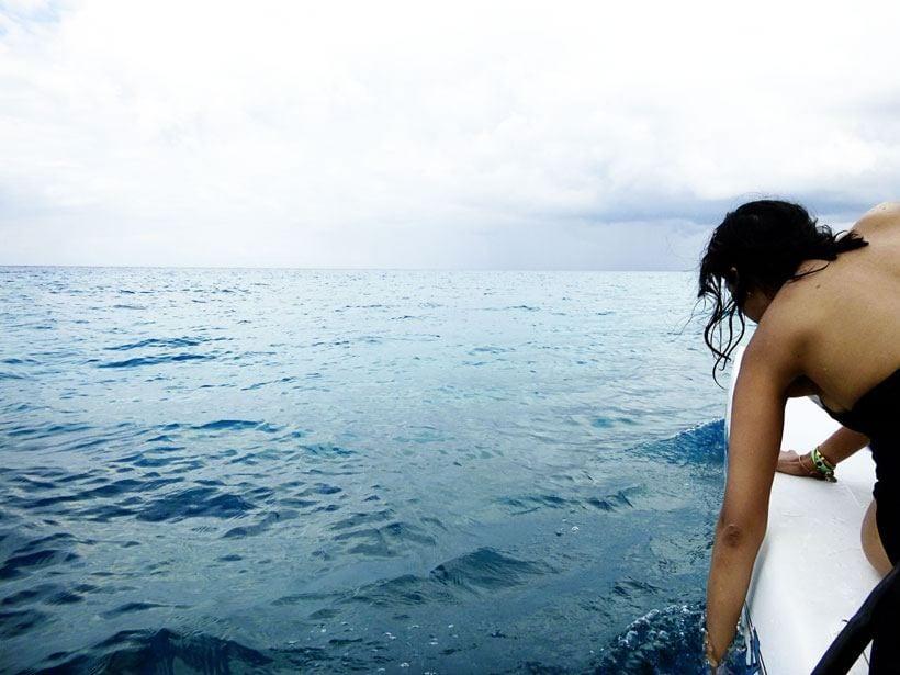 sailing around cozumel