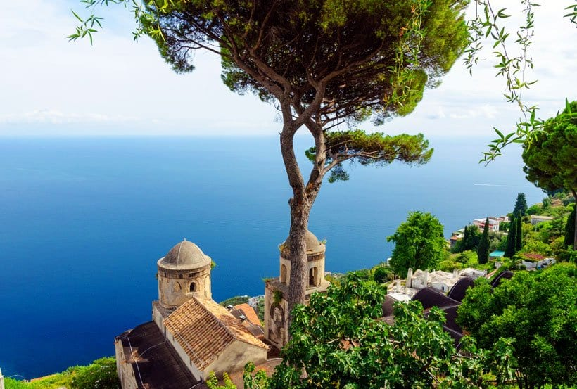 Ravello Italy coast