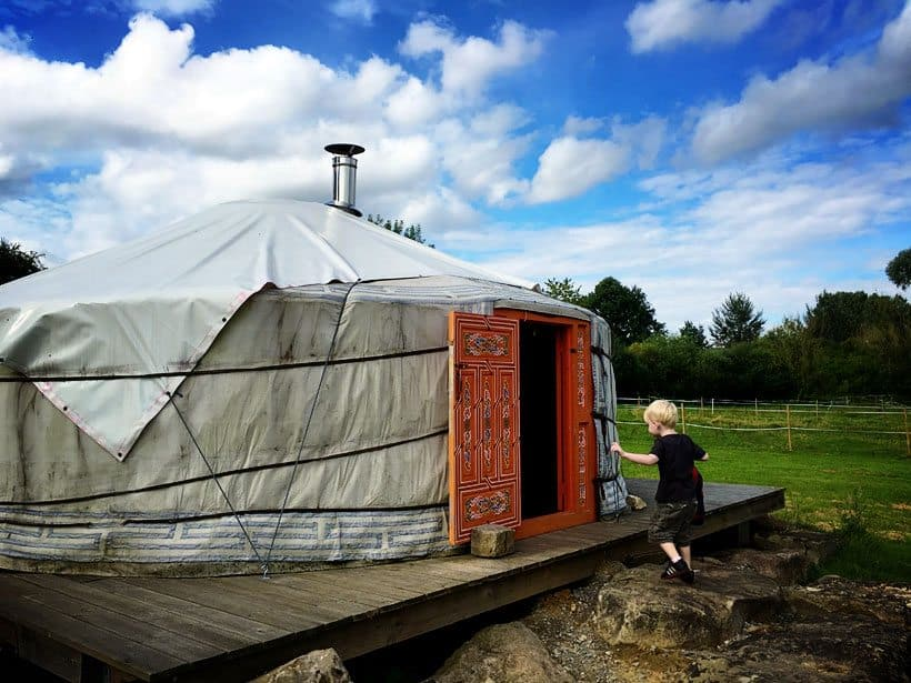 Moulin Bertrand Yurts France