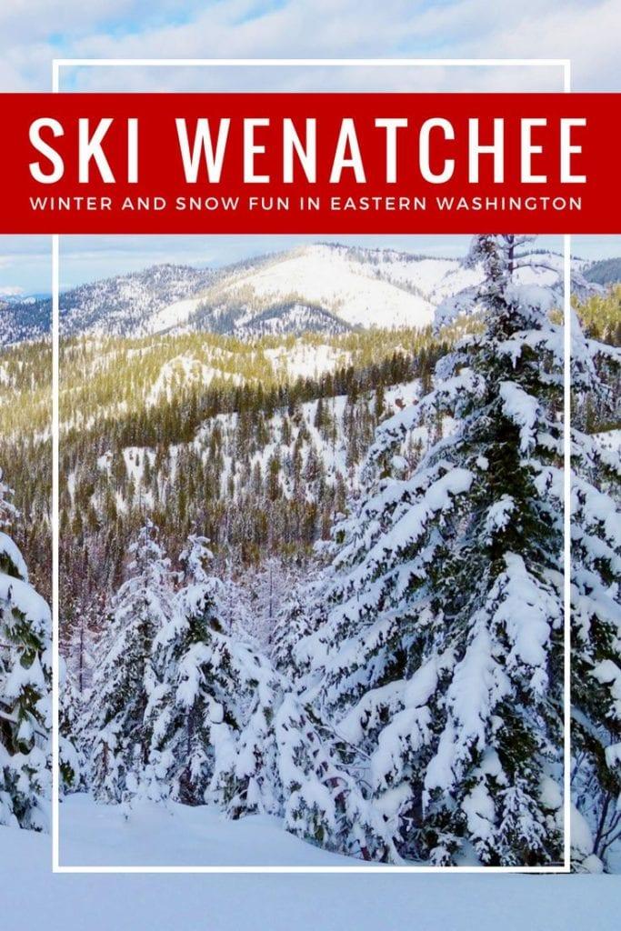 Winter Wenatchee Washintgon