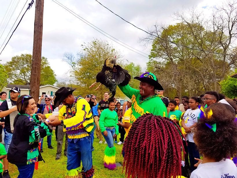 Cajun Mardi Gras SW Louisiana