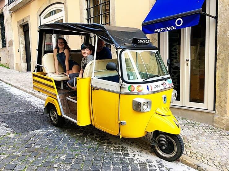 Lisbon Portugal Tuk Tuk tour