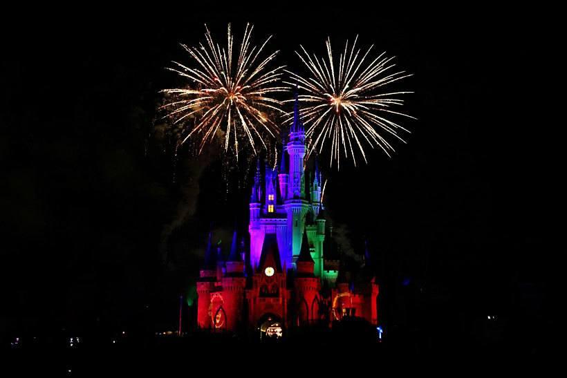 Sick kids at Disney World