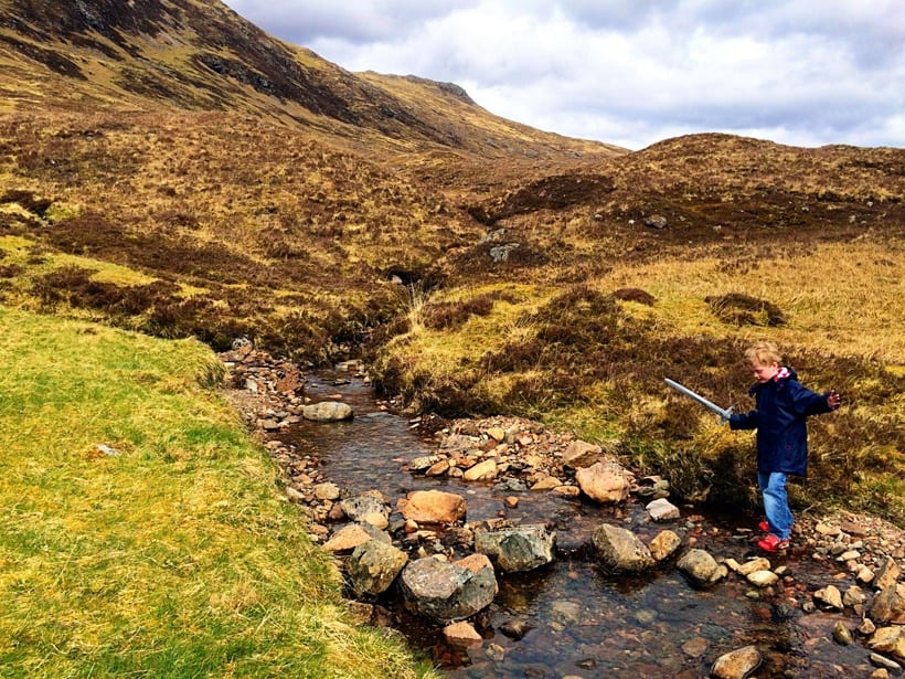 Scotland with Kids Itinerary- Glencoe