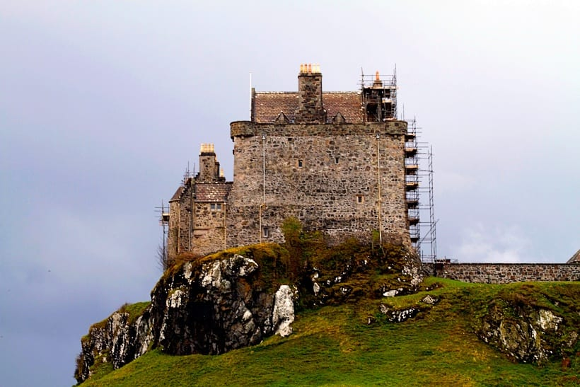 Duart Castle- Scotland with Kids Itinerary