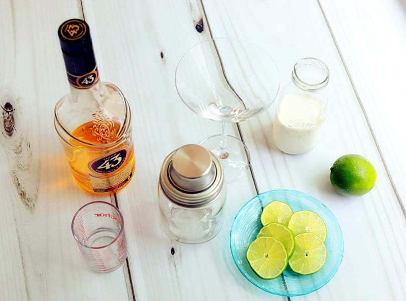 Key Lime Martini Recipe