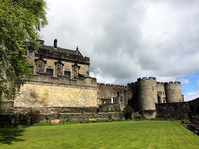 stirling castle-Scotland with Kids Itinerary