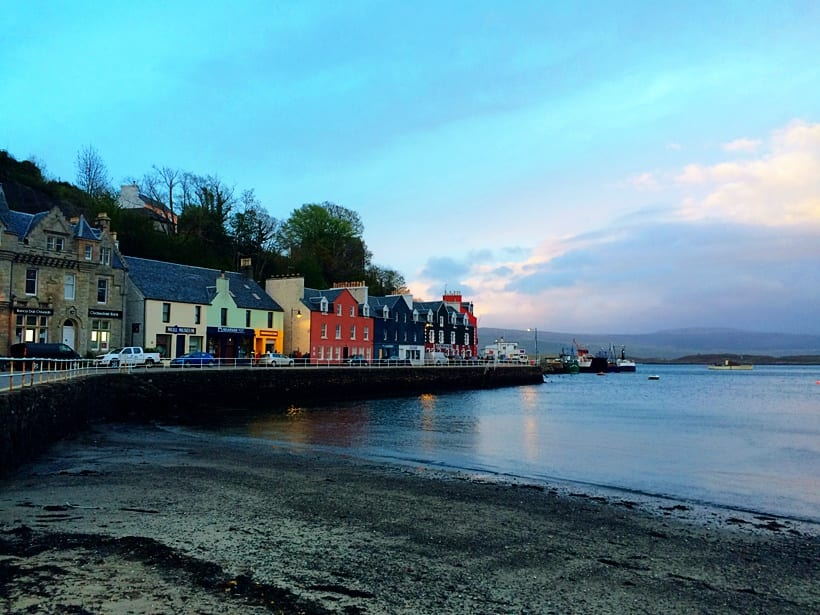 tobermory- Scotland with Kids Itinerary