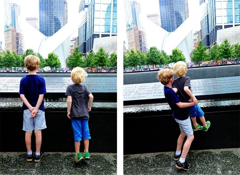 World Trade Center Memorial with Kids