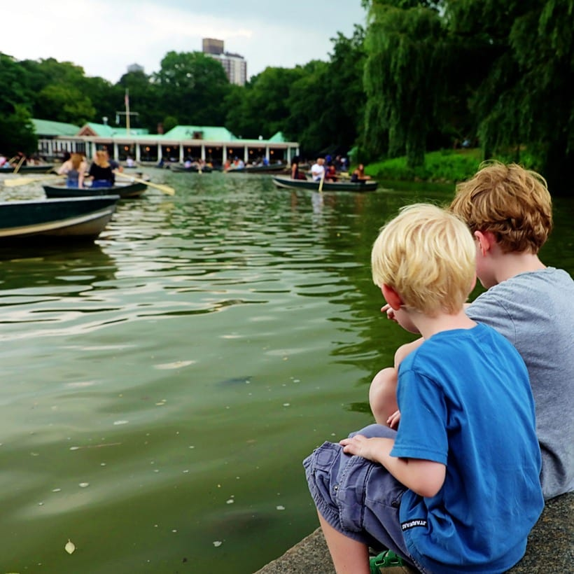 Central Park NYC with Kids