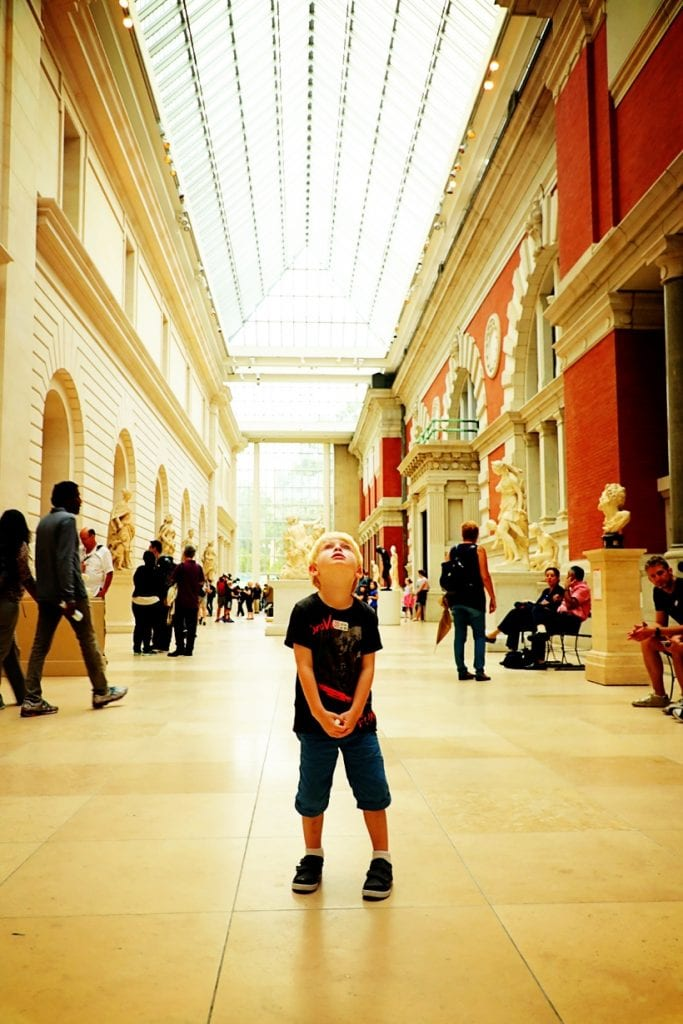 The Met NYC with Kids