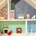 Restoring a Wooden Dollhouse