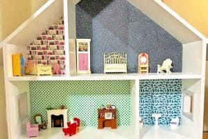Restoring a Wooden Dollhouse