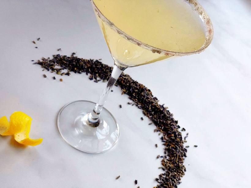 Lavender Dog Vodka Cocktail Recipe