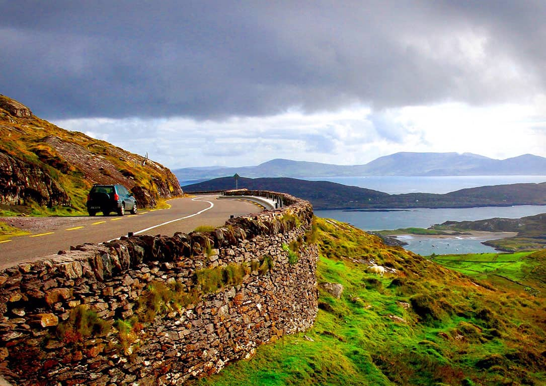 Ring of Kerry in Ireland - Driving in Ireland