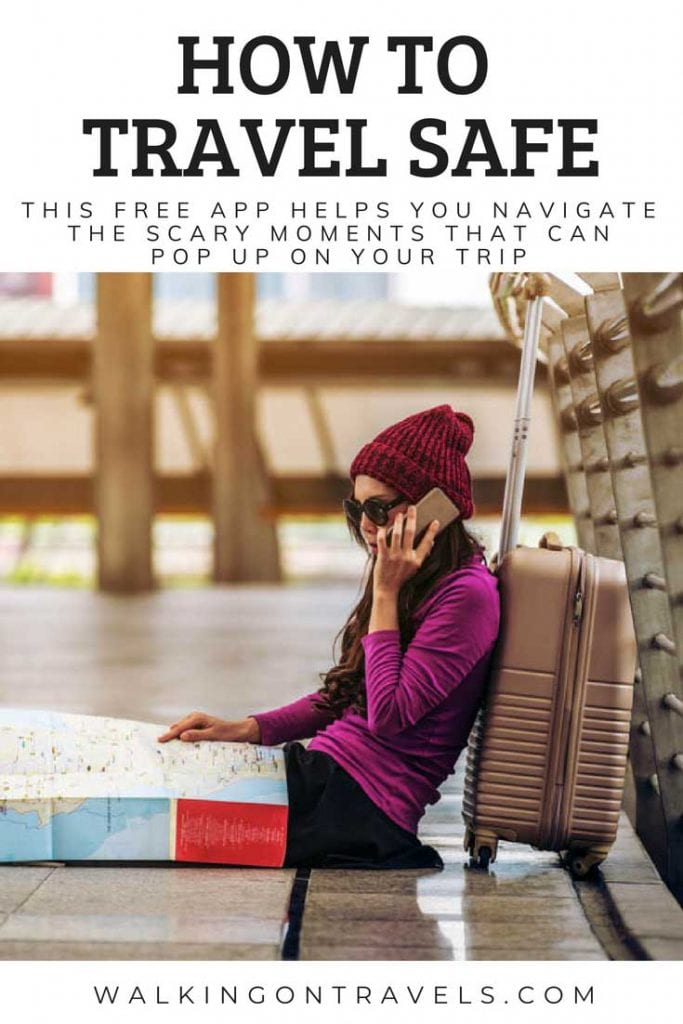 Learn how to travel safe using free travel apps, common sense and preparing before your trip with the best resources around. #traveltips #travelinsurance #travelapp