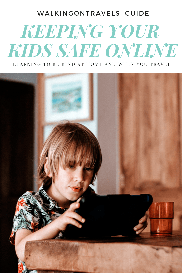 It's time to start raising our kids to Be Internet Awesome, which means modeling anti-bullying behavior online and offline when you are home and while traveling. If you wouldn't say it in person, you shouldn't say it online, but that is just the start of Google's anti-bullying initiative #ad #beinternetawesome #itscooltobekind #bullying #antibullying #parenting #raisingteens #tweens