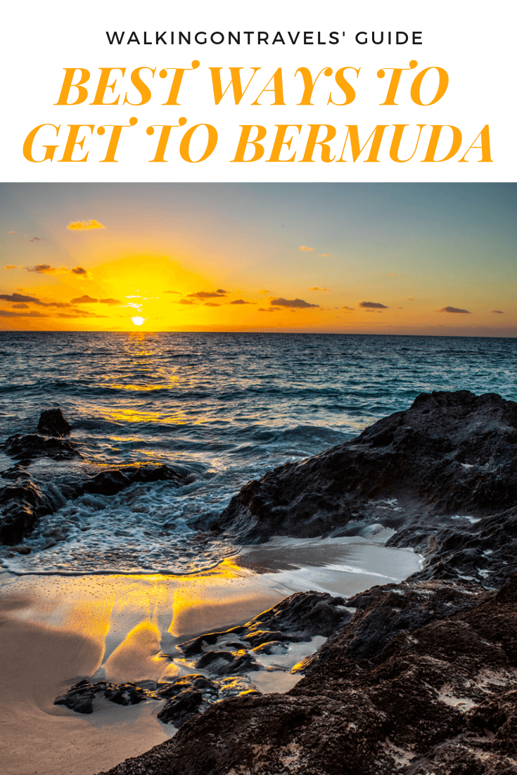 BEST WAY TO GET TO BERMUDA: Not sure how to get to Bermuda, especially if you live in Washington DC. We are breaking down all of your options to travel to Bermuda when you are trying to plan your Bermuda trip #bermuda #Bermudatrip #bermudavacation